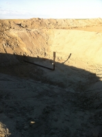 bakken Finished Flare Pit